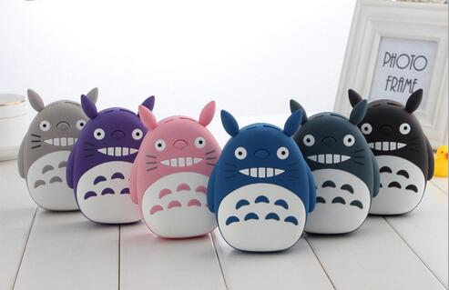 Totoro 12000mah USB Mobile Charger Cartoon Power Bank for Gift