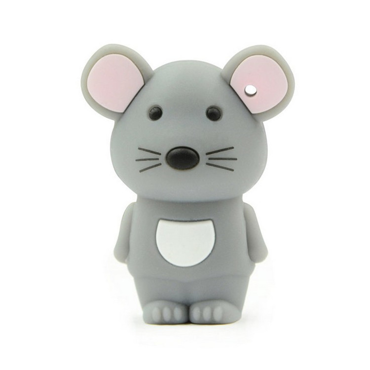 manufacture MOUSE cartoon pvc usb, Cheap customized soft PVC pen drive, cheapest customize pvc usb flash drive title=