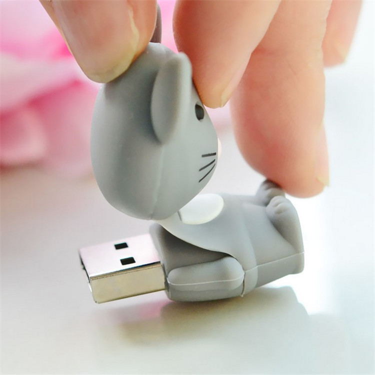 manufacture MOUSE cartoon pvc usb, Cheap customized soft PVC pen drive, cheapest customize pvc usb flash drive