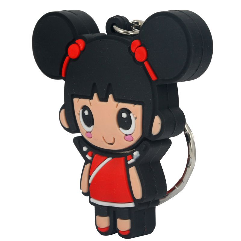manufacture girl cartoon pvc usb, Cheap customized soft PVC pen drive, cheapest customize pvc usb flash drive