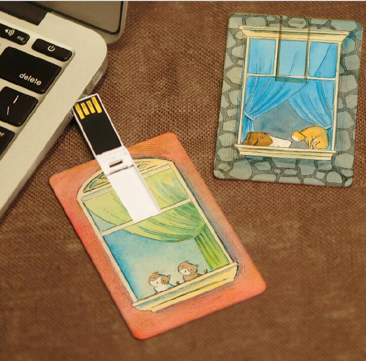 Super thin credit card memory mini key, Advertising USB Credit Card For Gifts, Promotional Credit Card Usb
