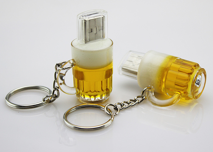 Beer bottle USB 2.0 custom plastic USB,Bulk buy USB flash memory,Wholesale OEM print logo pendrive