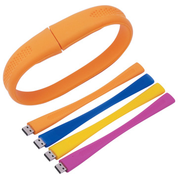 Promotional Custom Usb Bracelet Wristband Usb Flash with Logo