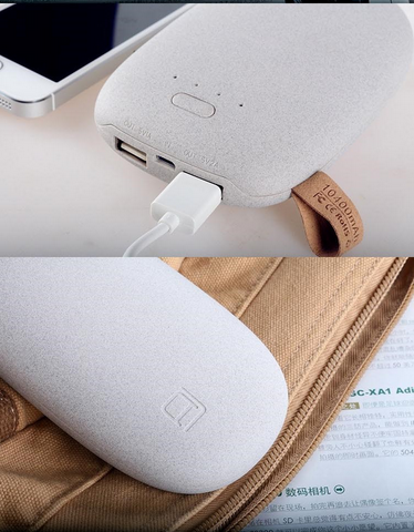 Creative gifts portable power charger, high capacity general stone power bank
