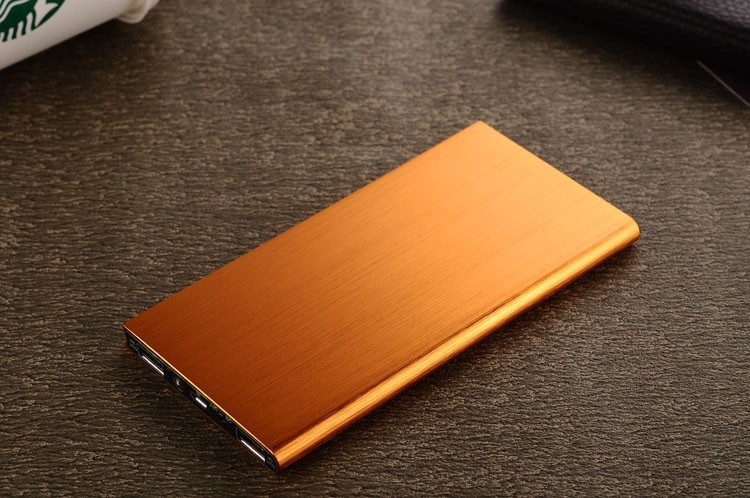 High-end business power bank 2014 new note book power bank 8000mAh